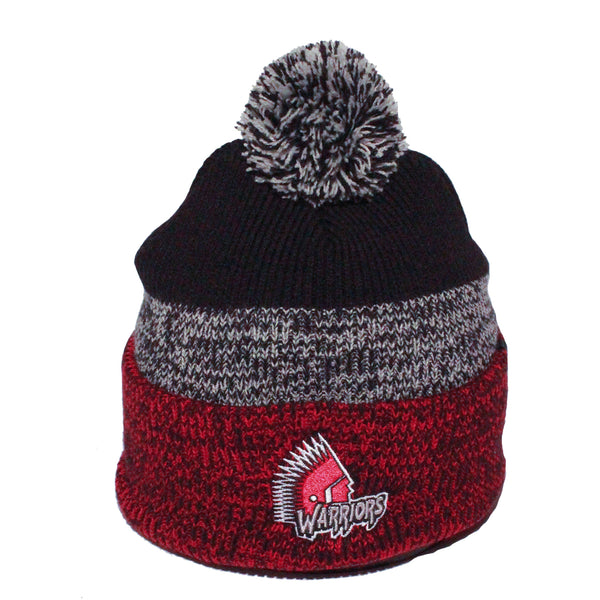 47 Brand Cuff Toque Blk/Red