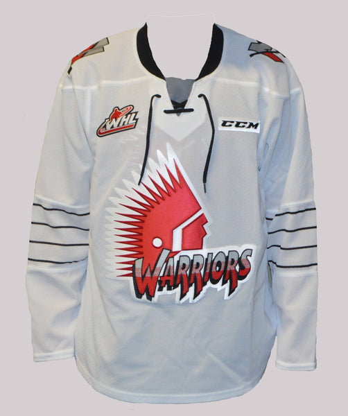 Youth 2017-18 Warrior Jersey - White