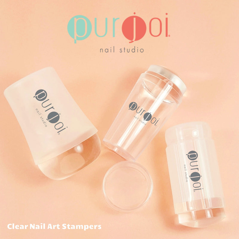 Clear Nail Art Stampers