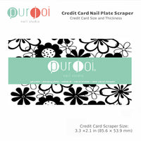 Extra Credit Card Scrapers - Purjoi Nail Studio