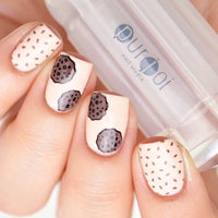 Frosted Clear Nail Stamper - 2.8 CM - Purjoi Nail Studio