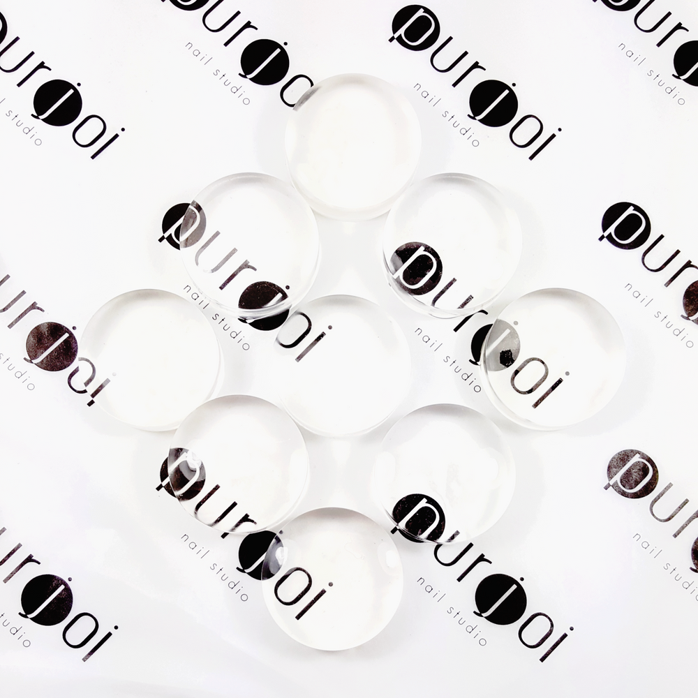 Clear Stamper Replacement Heads - Purjoi Nail Studio