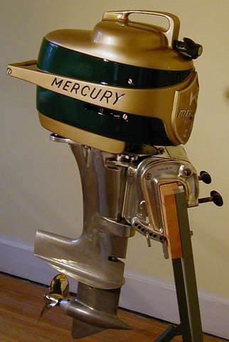 Photo gallery great photos restored mercury vintage for Vintage mercury outboard motors
