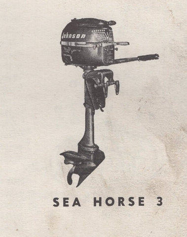 Johnson and Evinrude 3 hp