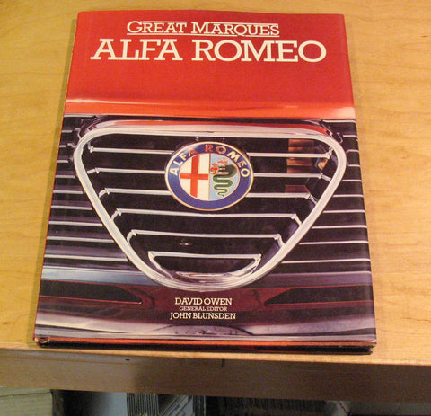 Alfa Romeo Marques book