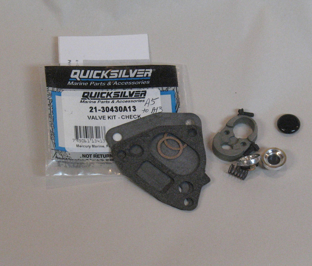 Mercury outboard fuel pump check valve kit