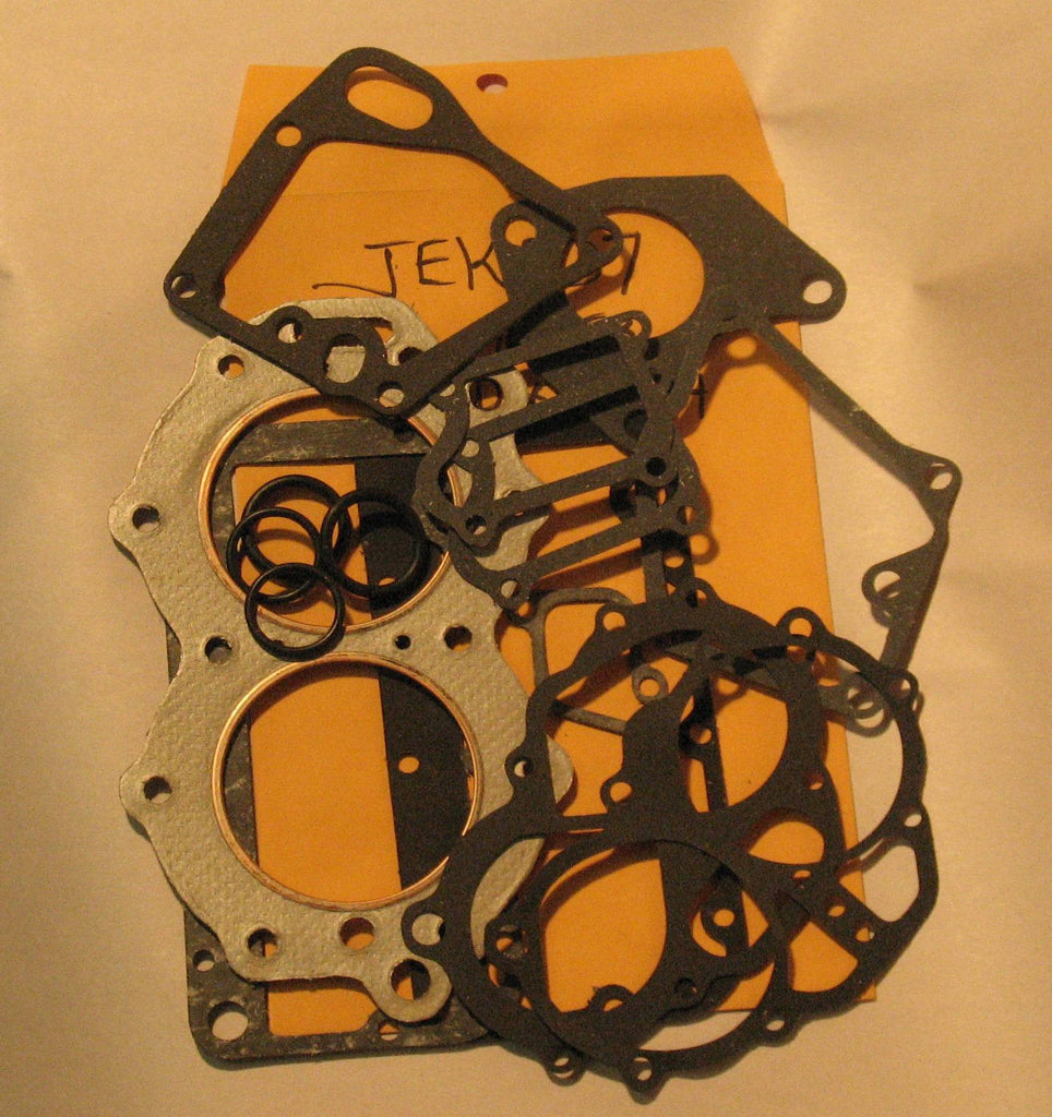 JEK007 - Johnson/Evinrude Gasket Kit 10 hp / 1949-53 QD-10 to QD14 (head gasket included)