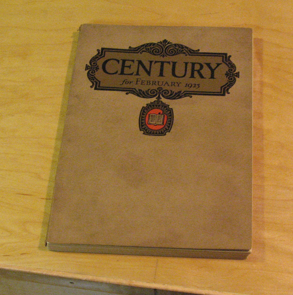 Century Magazine 1923 great color adds