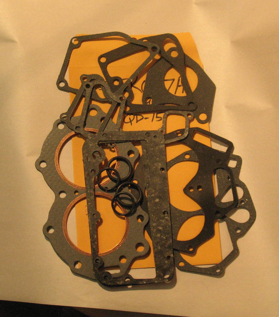 JEK007A Johnson/Evinrude Gasket Kit 10 hp / 1954 QD-15 only (head gasket included)