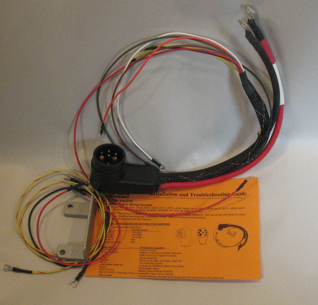 Mercury Wiring Harness List Of Schematic Circuit Diagram G Clip 414 2770 Internal Under The Motor Cowl For Rh Vintageoutboard Com Outboard Smartcraft