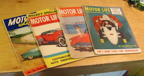 Motor Life (formerly Hop Up) magazine lot
