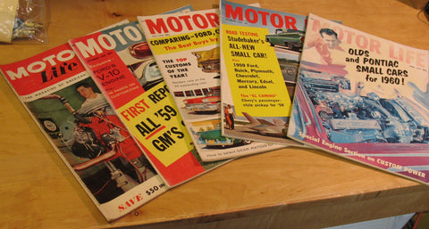 Motor Life Hop Up magazine lot