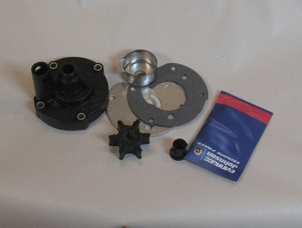 763758 water pump kit complete replaces die cast housing  (details)
