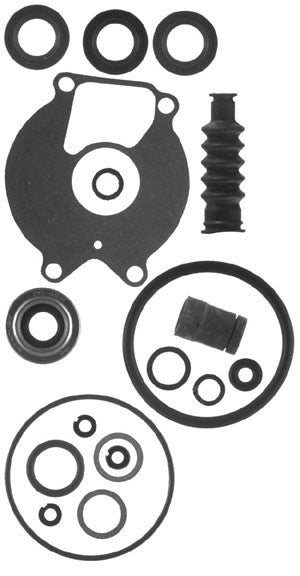 18-2624 - Lower unit seal kit 9.9 & 15hp 4 stroke (Big Foot) G760300 & up, Magnum/Marathon 15XD/Super 15 all, 18 & 20 hp, 25hp, 25hp 3 cyl. Lightning
