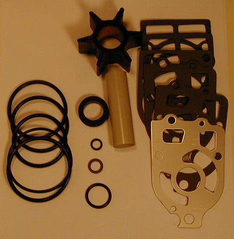 18-3217 - Basic water pump repair kit with impeller (no housings) fits all 4 and 6 cylinder models 650-1500 1963 to 1986