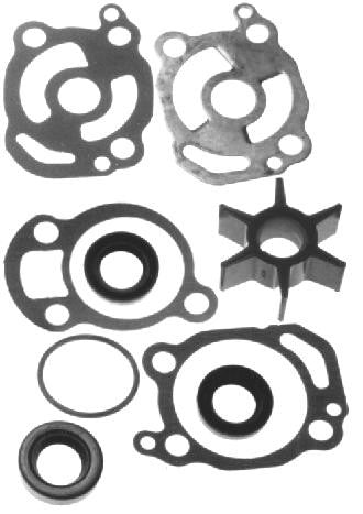 18-3252 - Impeller repair kit without housings replaces Merc # 47-89982T1 includes impeller, face plate, gaskets, o rings and seals Fits Merc model 200 sn 2827677 to 6443972