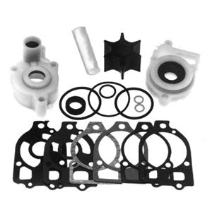18-3319 - Complete water pump impeller kit with upper and lower housings fits V6 135hp, V6 150hp,V6 175hp, V6 200hp, V6 220hp all, XR4 /Magnum 11 all