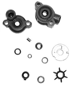 18-3446 - Complete water pump repair kit (upper and lower housings)
