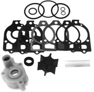 18-3517 - Water pump impeller kit with upper housing Replaces Merc # 46-60367A1,46-96148A5 fits all 4 and 6 cylinder models 650-1500 1963 to 1986