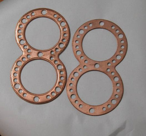"171102 - Head Gaskets (pair) (Antique) Evinrude ""Big Four"" 1949 and prior"