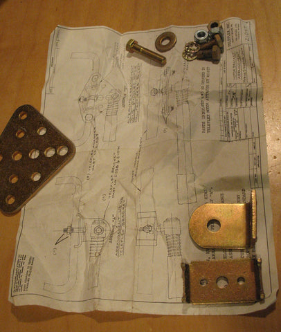 Teleflex Steering attaching kit #21097 many motors and models Johnson Evinrude Scott Atwater