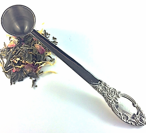 Tea Scoop Silver Plated