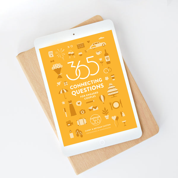 365 Connecting Questions for Engaged Couples - eBook
