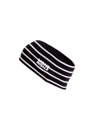 Revy Reversible Headband Stripes/Black
