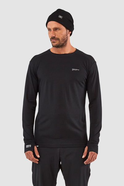Alta Tech Ls Crew Black