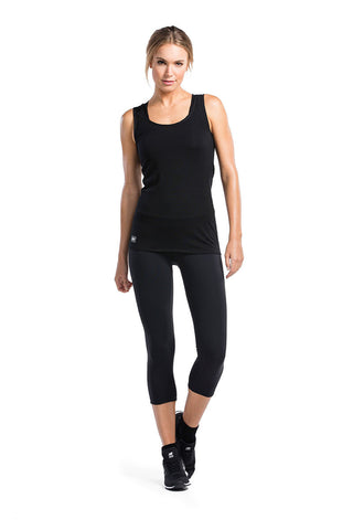Bella Tech Tank Geo Black