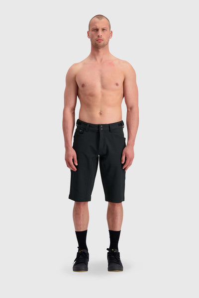 Momentum Bike Shorts Black-Herra