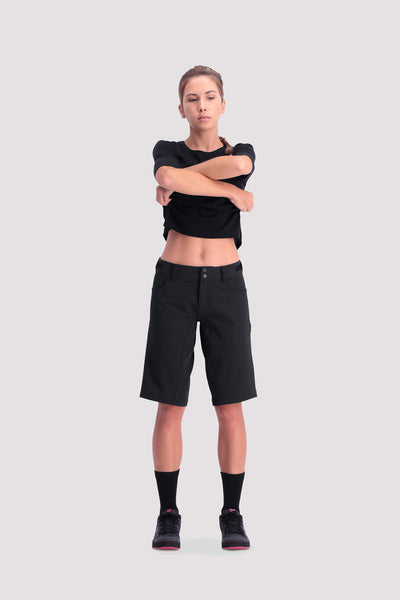 Momentum Bike Shorts Black-Dömu