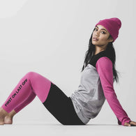 Christy Legging Pink/Black