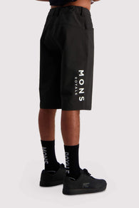 Momentum 2.0 Bike Shorts Black-Herra
