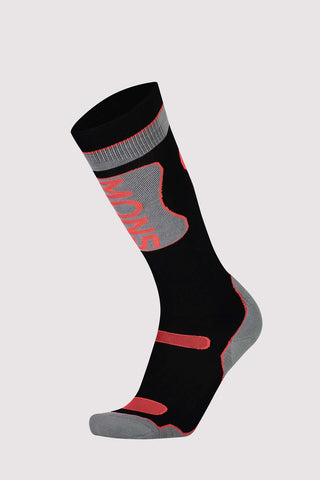 Pro Lite Tech Sock Black/Neon-Dömu