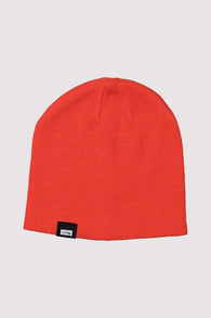 The Shorty Beanie Solid Orange Smash