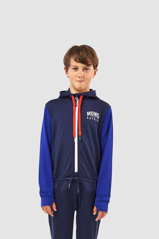 Boys Groms Monsie One Piece Navy/Electric Blue 10-13 Years