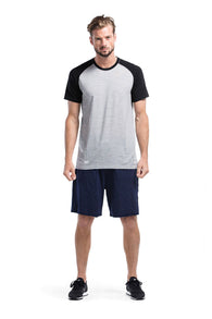 Temple Tech T Geo Black/Gray Marl