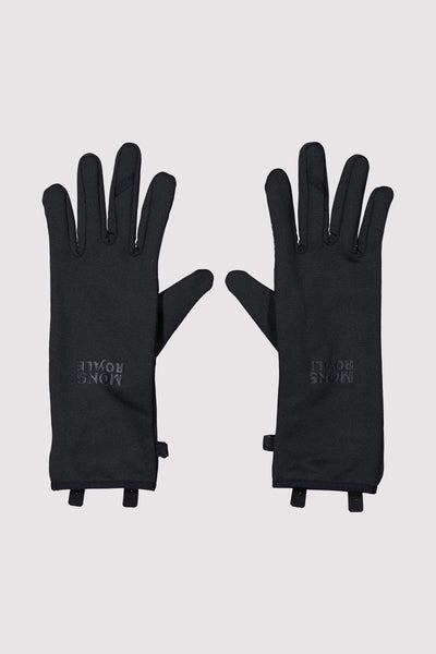 Amp Wool Fleece Glove Black