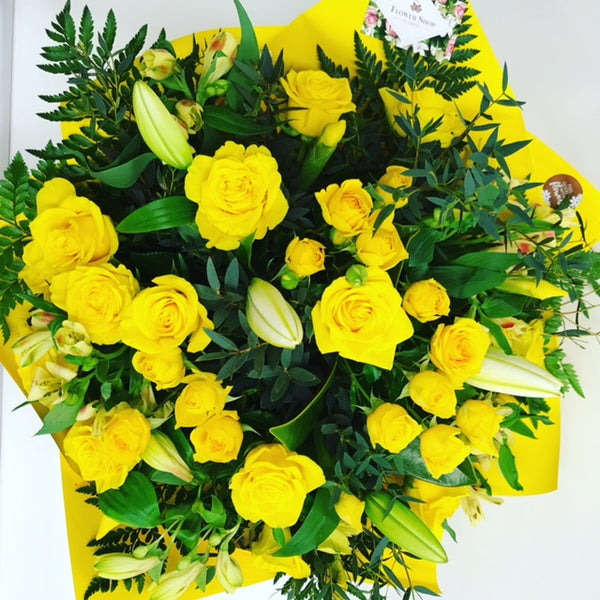 We send flowers from our florist in Wellington