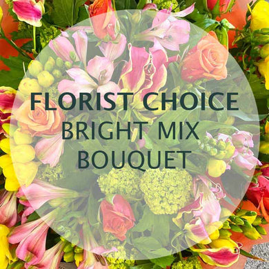 Florist Wellington Bright Flowers Bouquet New Zealand shop online