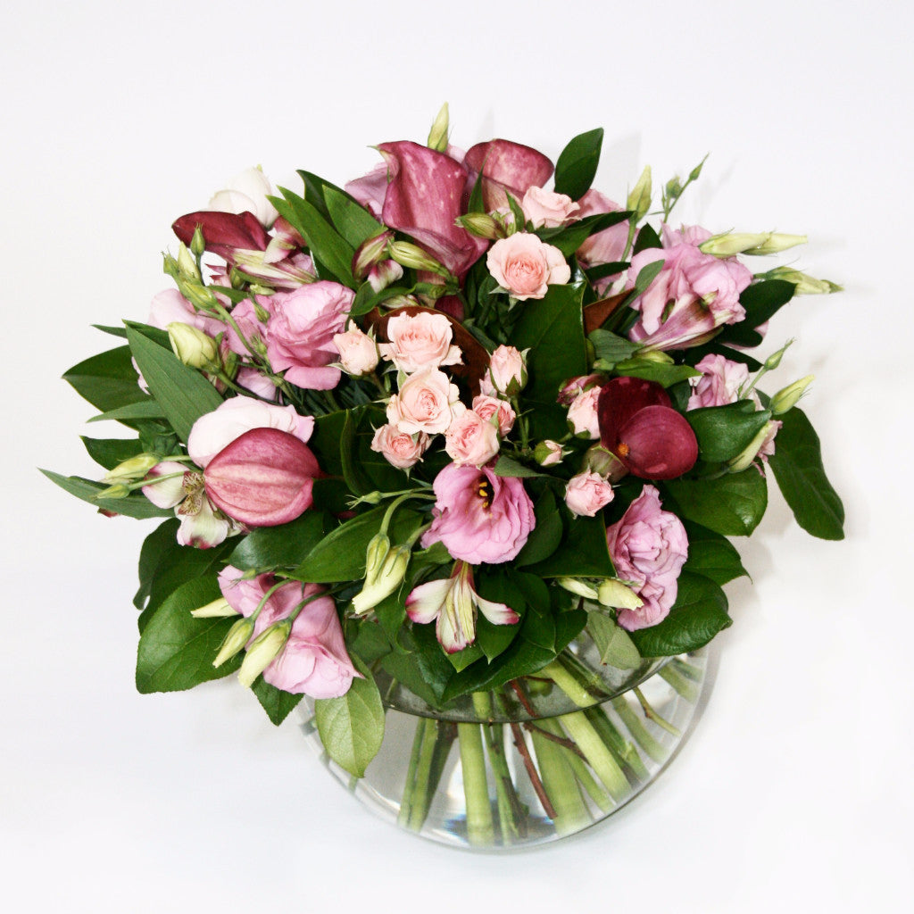 Soft Pink mix Posy Flowers Delivery | Florists Wellington NZ ...