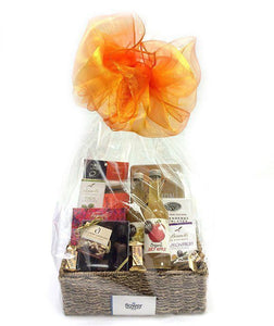 Chocolate Goodies Gift Basket - Gourmet Gift Hamper Baskets - Flower Shop Florist Wellington NZ