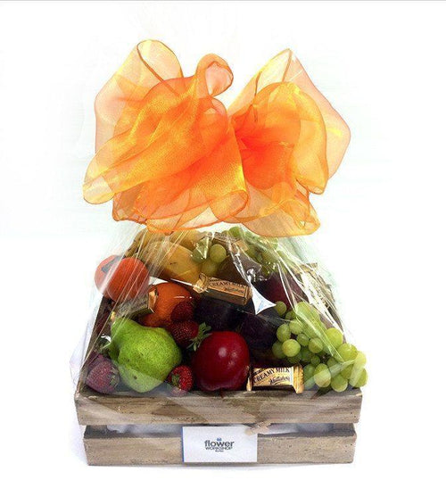 Fruit Hamper Basket - Gourmet Gift Hamper Baskets - Flower Shop Florist Wellington NZ