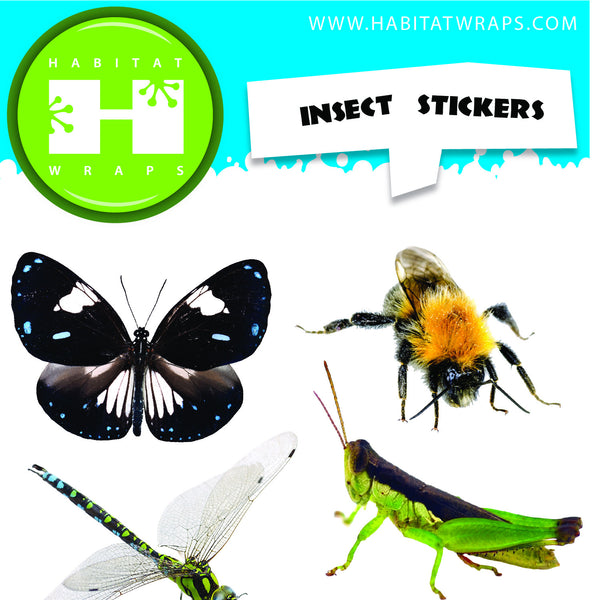 Insect Stickers – Habitat Wraps