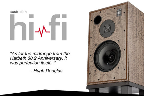 Australian Hi-Fi Magazine Reviewed the Harbeth 30.2 Speaker