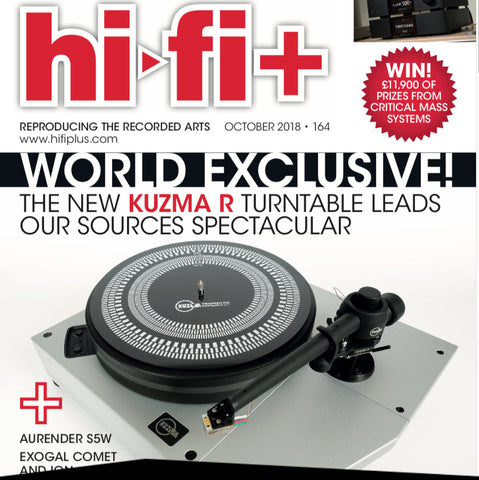 World Exclusive! Kuzma Stabi R Turntable Reviewed by Hi-Fi+