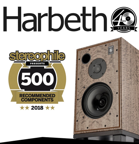 Stereophile Reviewed the Harbeth 40th Anniversary 30.2 Silver Eucalyptus
