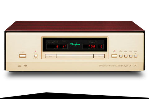 NEW: Accuphase DP-750 Precision MDSD SA-CD Player / DAC