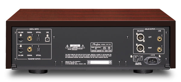 Accuphase DP-750 Precision MDSD SA-CD Player / DAC